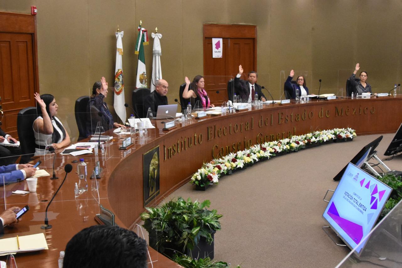 APRUEBA IEEM ASIGNACIÓN DE DIPUTACIONES POR REPRESENTACIÓN PROPORCIONAL