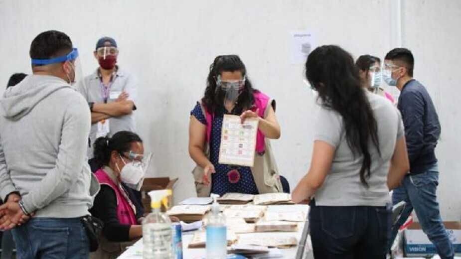 RECIBE INE INFORME FINAL DE CÓMPUTOS DISTRITALES DE ELECCIÓN