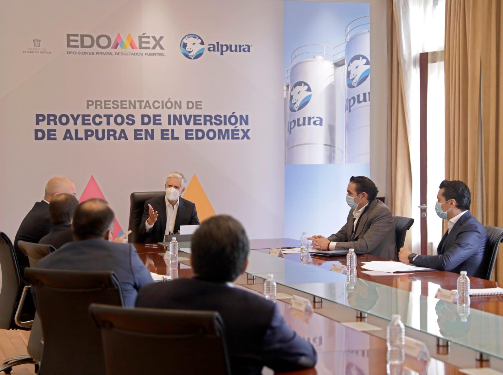ALFREDO DEL MAZO ANUNCIA INVERSIÓN DE ALPURA SUPERIOR A MIL 500 MDP EN EL EDOMÉX