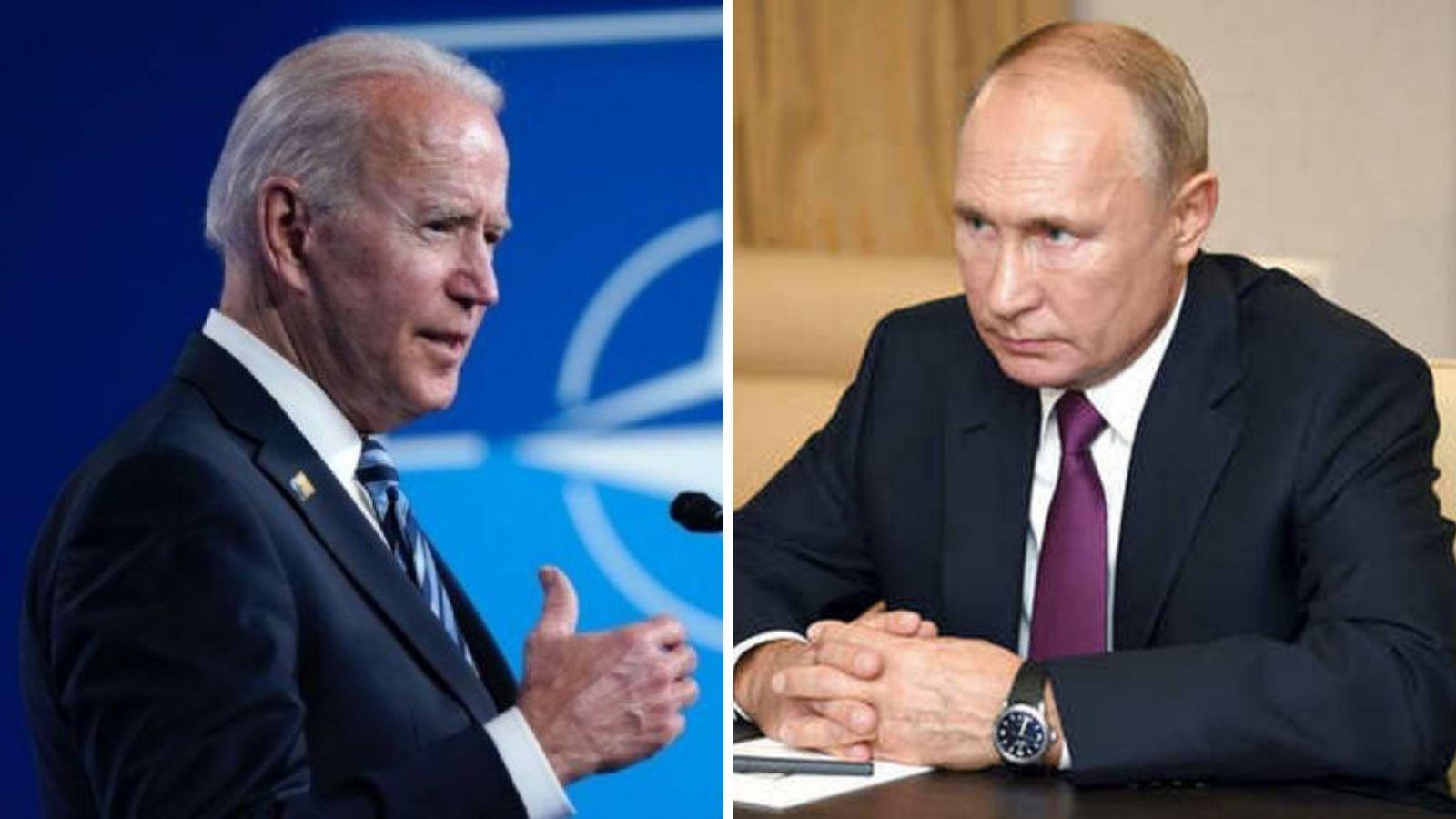 """""""RESPONDEREMOS CON LA MISMA MONEDA"""" A RUSIA, SI INSISTE EN CONFRONTACIÓN: BIDEN"""