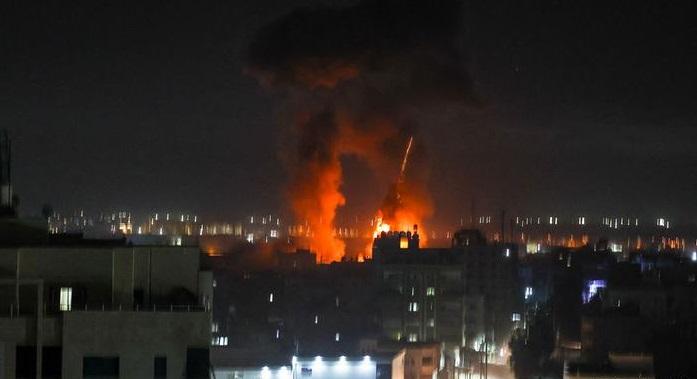 ISRAEL LANZA NUEVO ATAQUE AÉREO CONTRA LA FRANJA DE GAZA