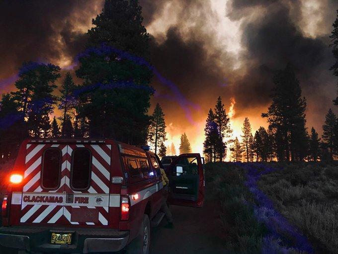 BOOTLEG FIRE', INCENDIO QUE YA DEVORÓ 80 MIL HECTÁREAS Y SIGUE SIN CONTROL  - Sistema Mexiquense de Medios Públicos